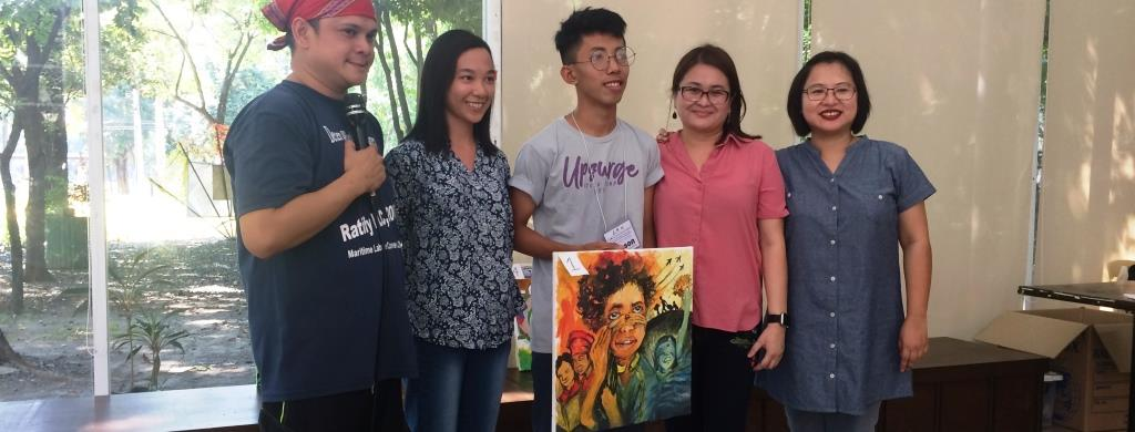 9 Art Painting Workshop June 17 2017